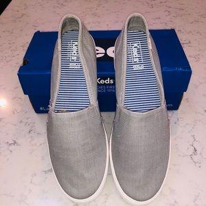 New in Box KEDS Slip On Sneakers